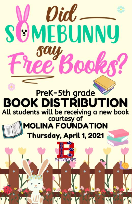 Image of Book Distribution flyer