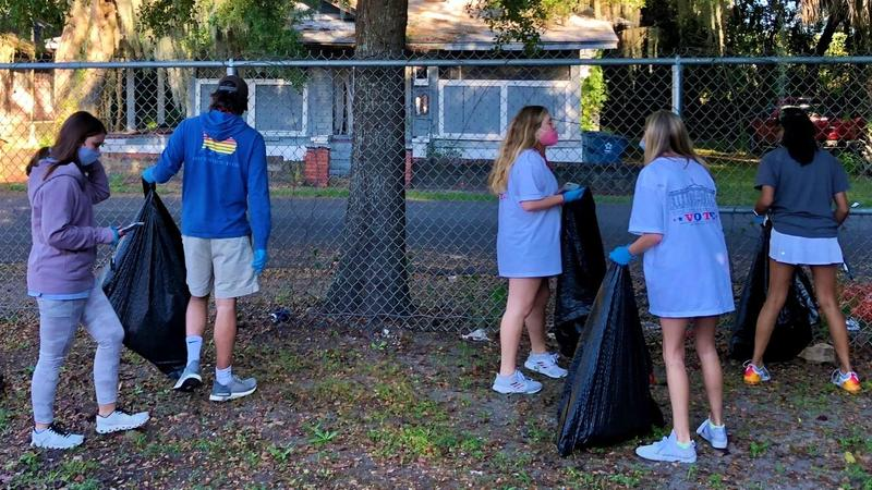 Civic Engagement Society Volunteered To Clean Campus Featured Photo