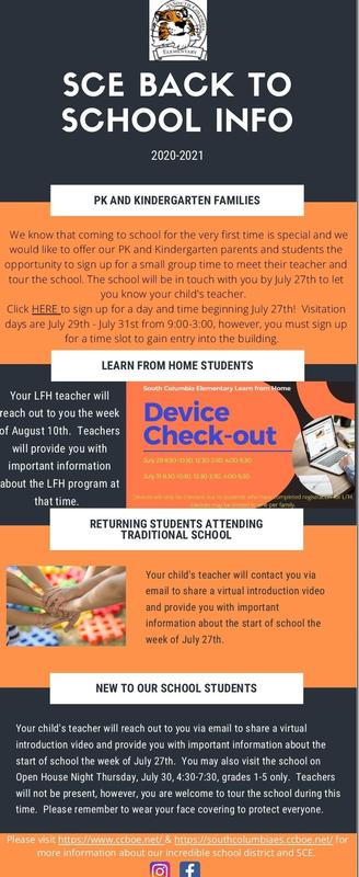 SCE Back to School Information Featured Photo
