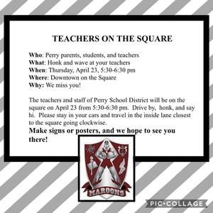 Teachers on the Square