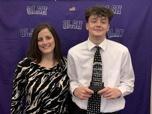 photo of Jake and mom