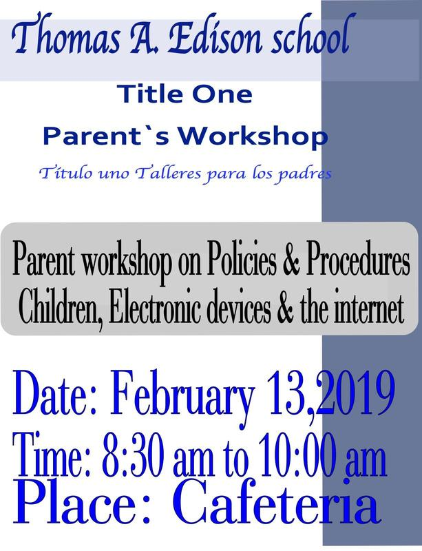 parent breakfast workshop