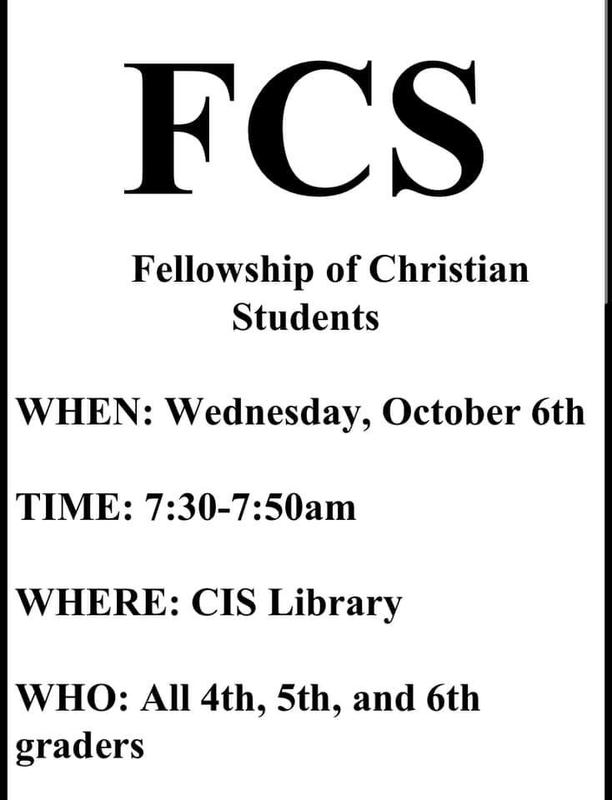 Fellowship of Christian Students Featured Photo