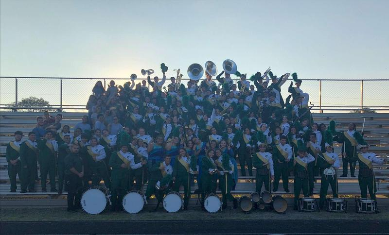 Mighty Javelina Band Advances to Area Featured Photo