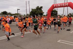 MEEF Fit and Fun Run Participants