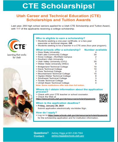 CTE Scholarship