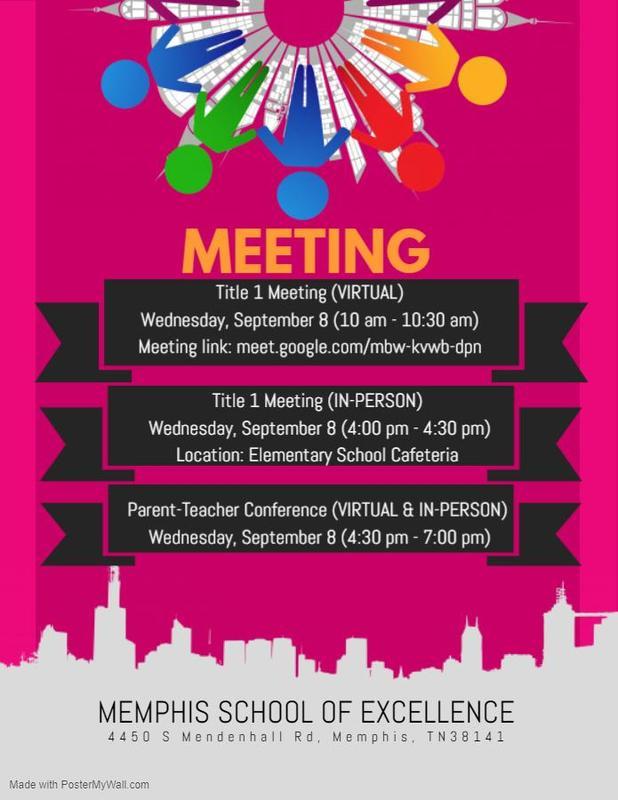 Title-1 Parent Meeting