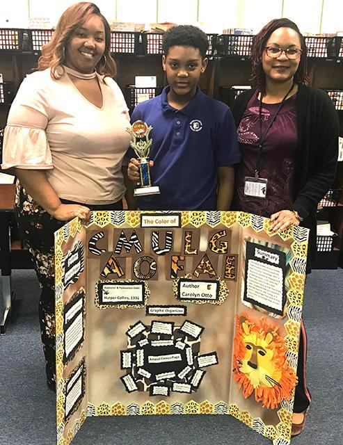 Winners for Morgantown Middle School's  2018 Reading Fair Thumbnail Image