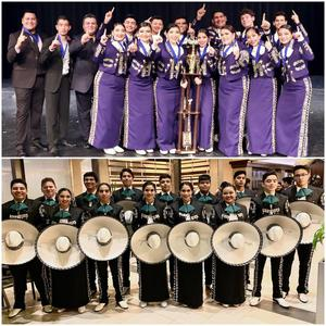 McAllen High Mariachi and Nikki Rowe Mariachi