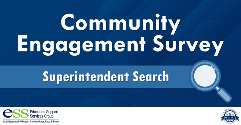 Community Engagement Survey - Fall 2020 Superintendent Search graphic.
