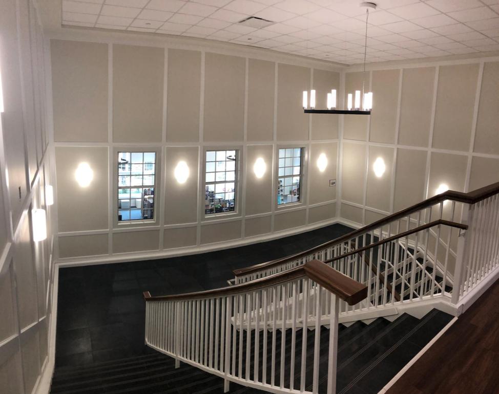 Hyer stairwell 012221