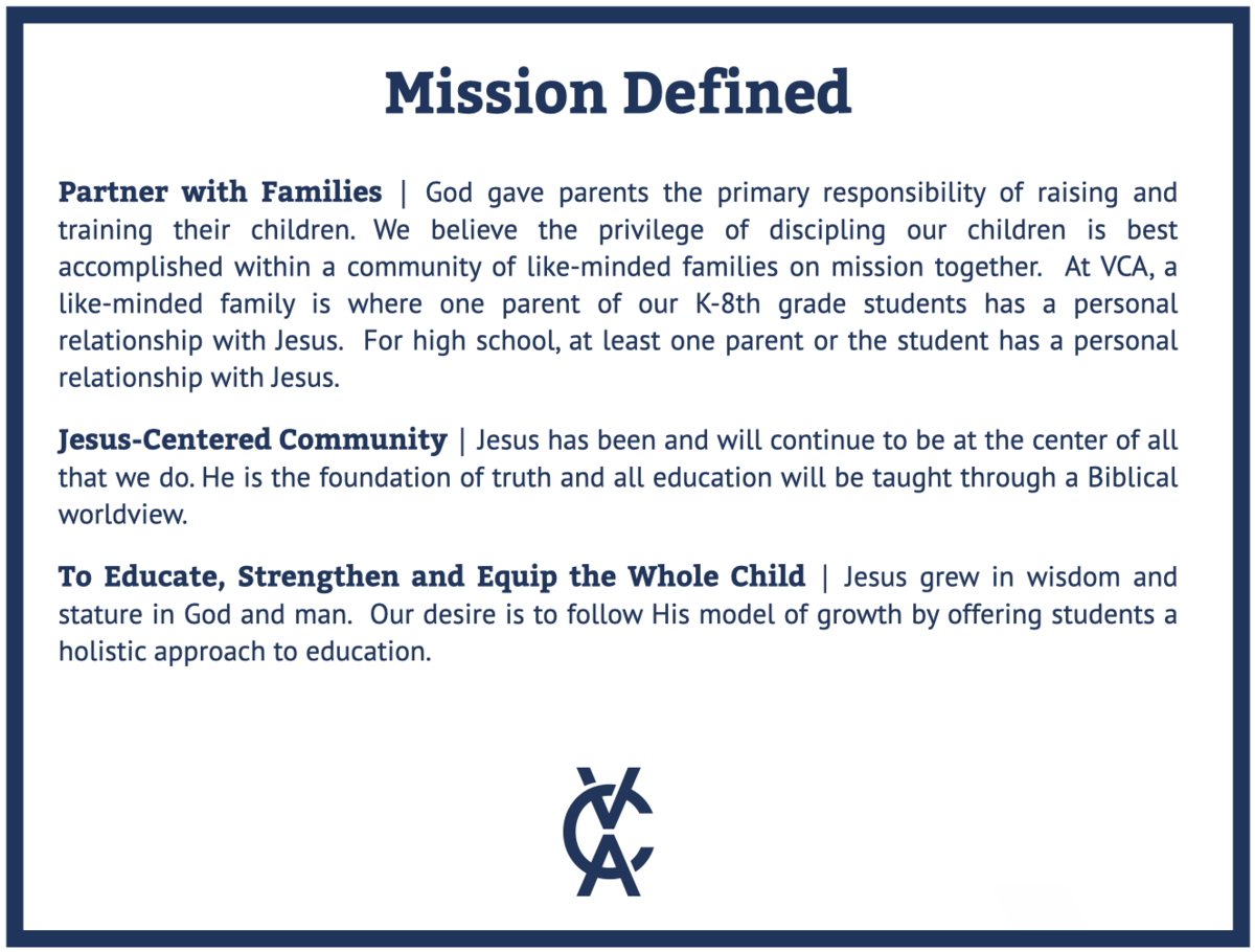 VCA Mission Defined