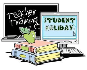 Teacher Professional Day, no school students