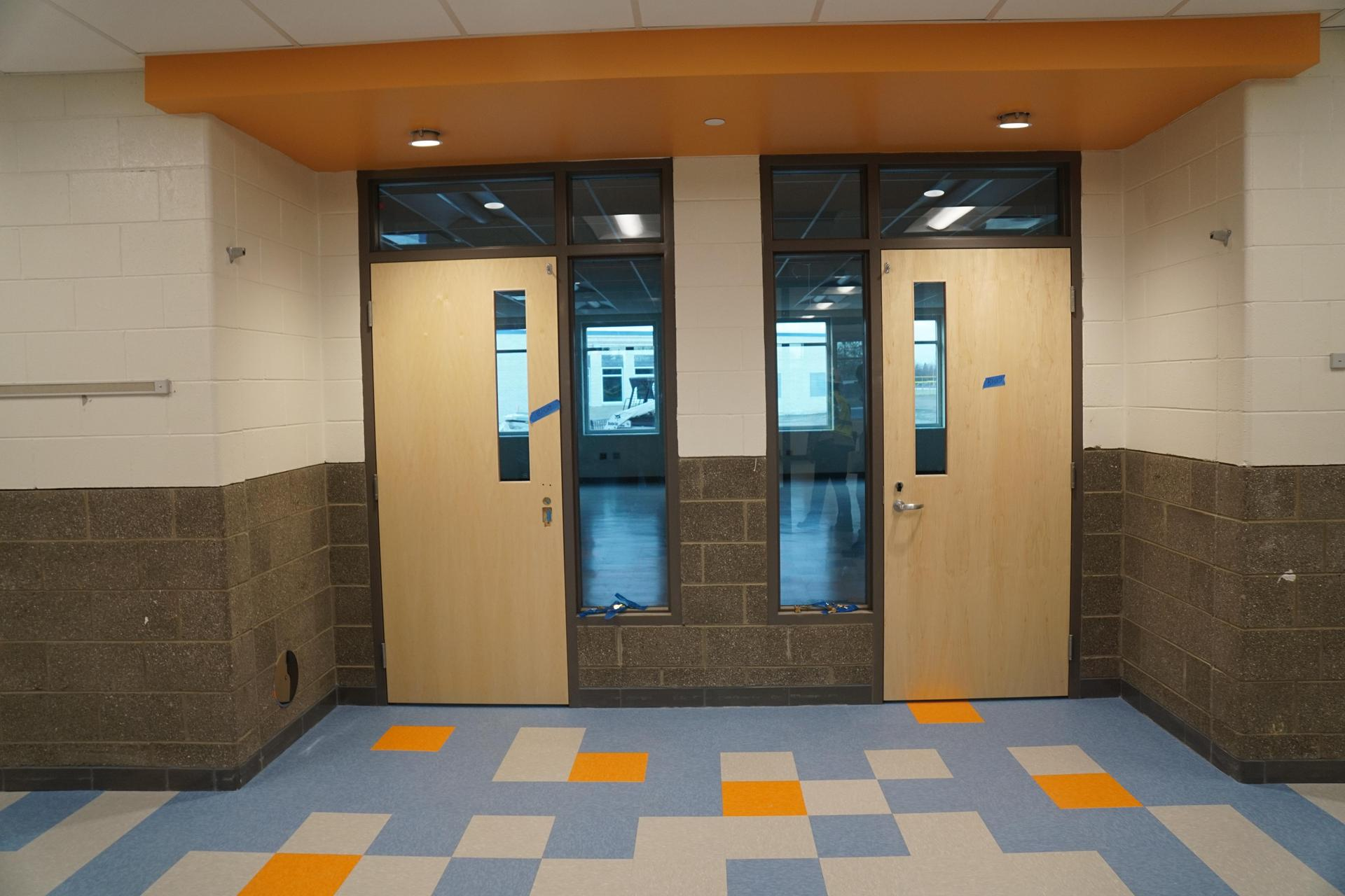 classroom entry