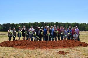 Walton Elementary Staff Groundbreaking