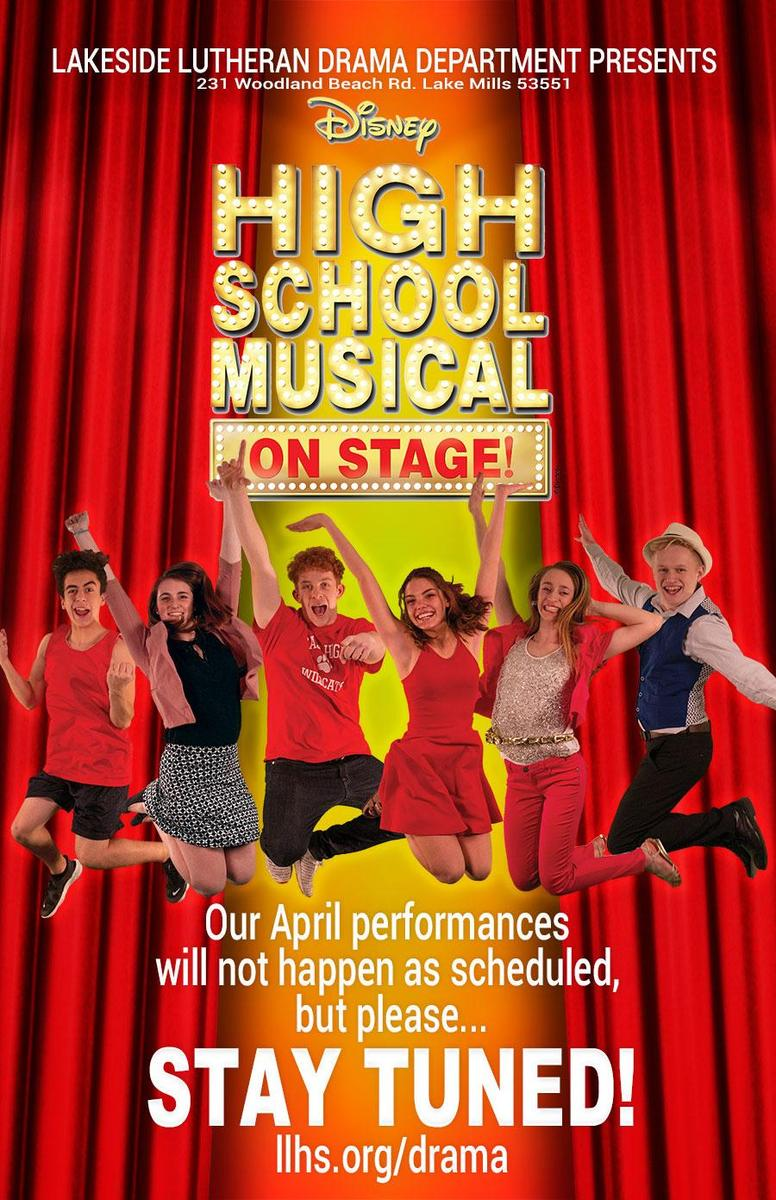 HSM stay tuned poster
