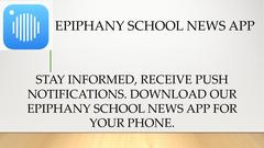 EPIPHANY NEW APP