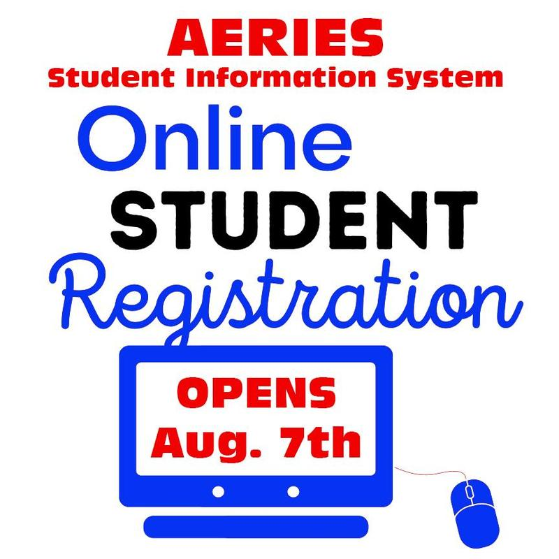 Aeries Portal Opens Aug 7th