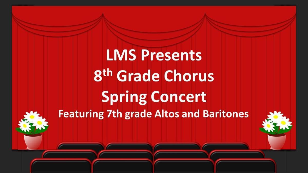 8th grade spring concert