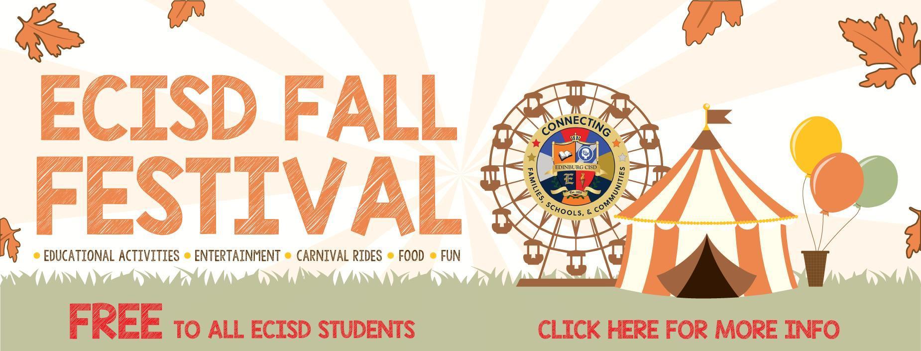 2019 Fall Festival Banner