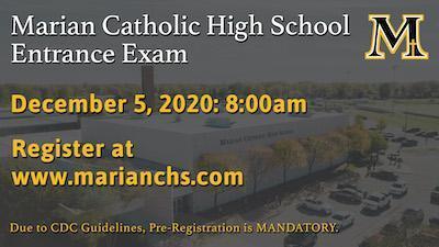 Entrance Exam - Pre-Registration MANDATORY Featured Photo