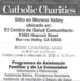 Catholic Church flyer