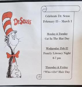 Dr.Seuss Week