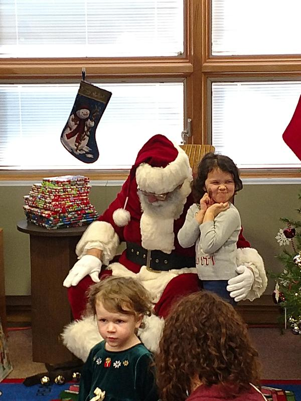 Books with Santa