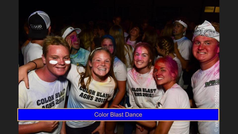 Color blast Dance