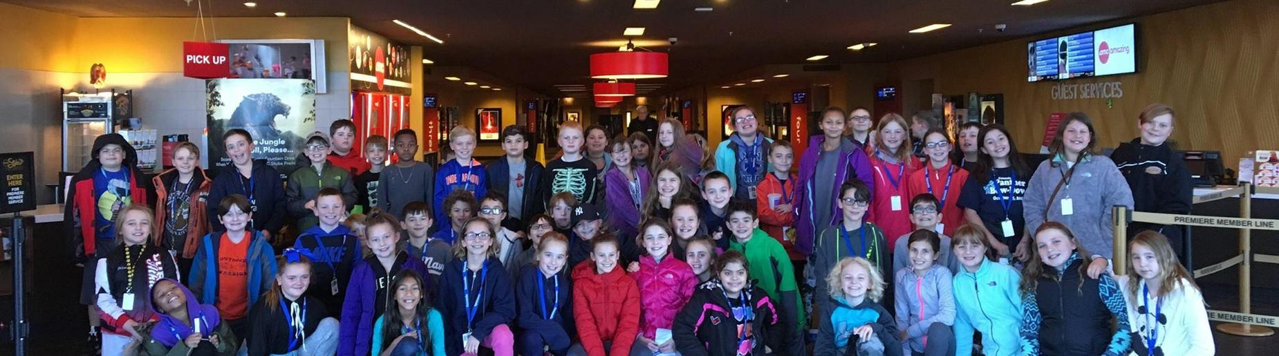 5th Graders at AMC Theater