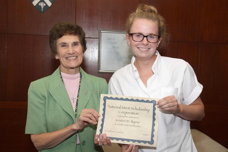 SHA Senior Kristen Byrne Named National Merit Scholarship Semifinalist Featured Photo