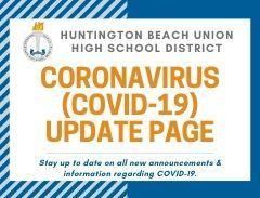 covid19 update page