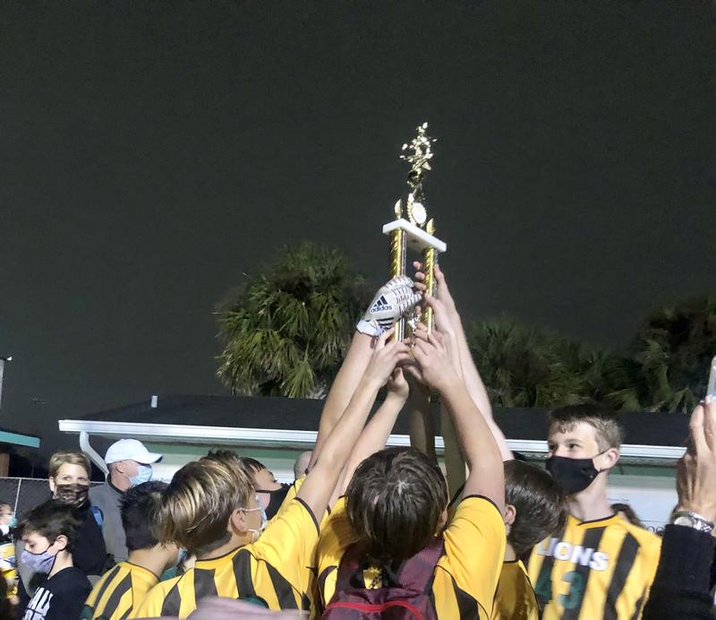 HFCS Boys Varsity Flag Football Team CYS Champions Featured Photo