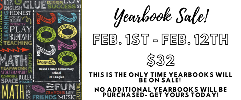 Picture of Yearbook Sale Feb. 1-12 $32