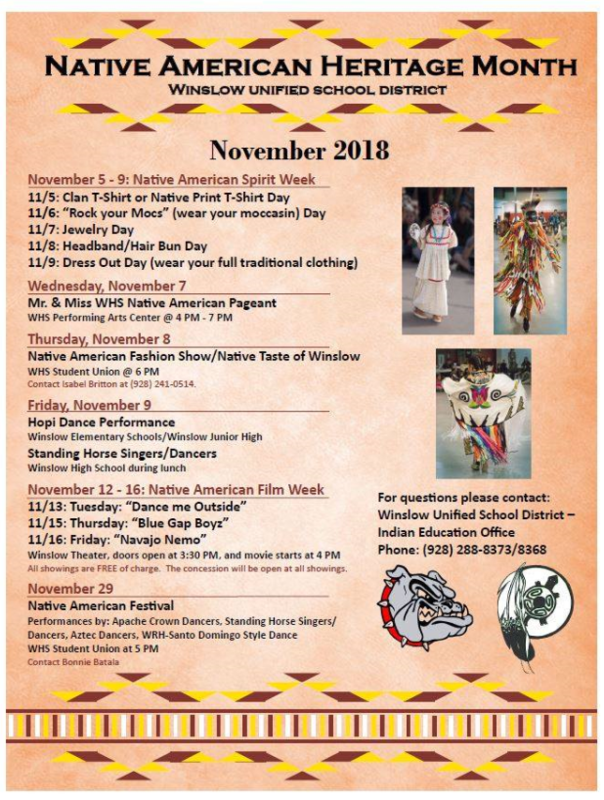 Native American Hertiage Month Featured Photo