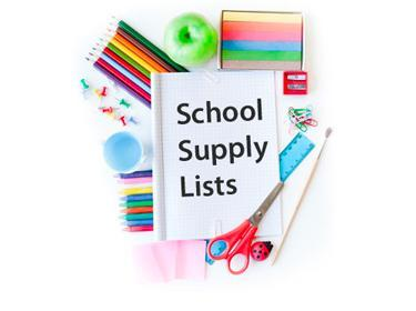School Supply Lists Featured Photo