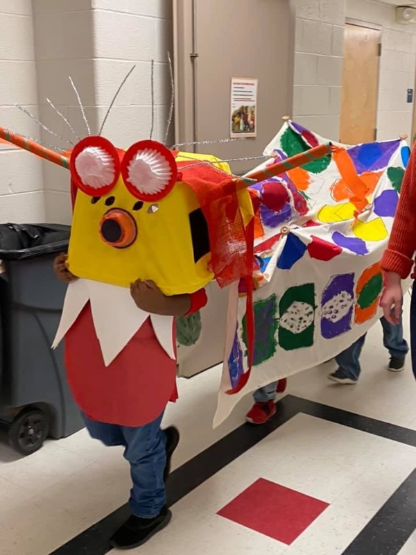 1st Grade Celebrates Chinese New Year Featured Photo