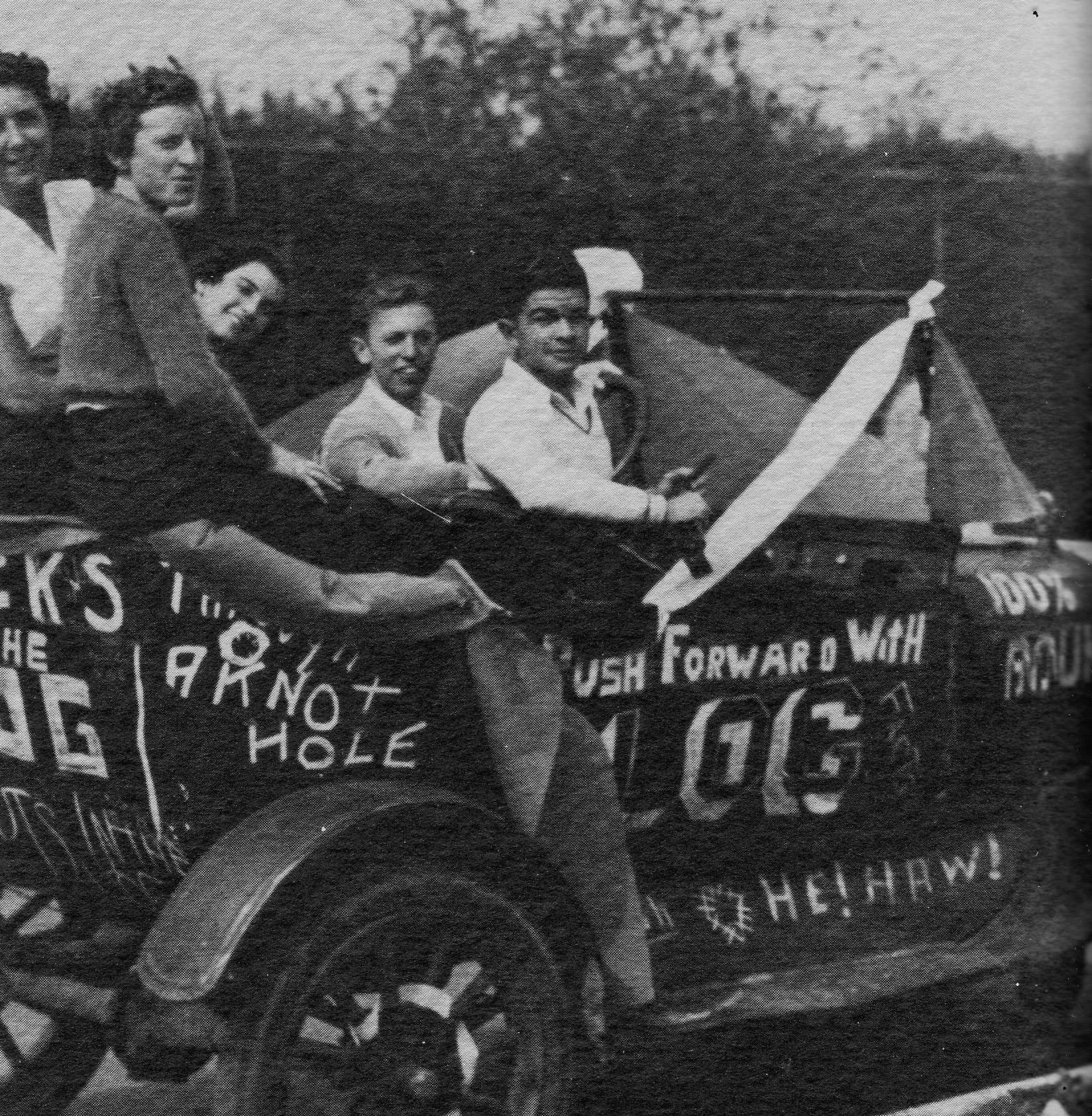 Log Staff 1935
