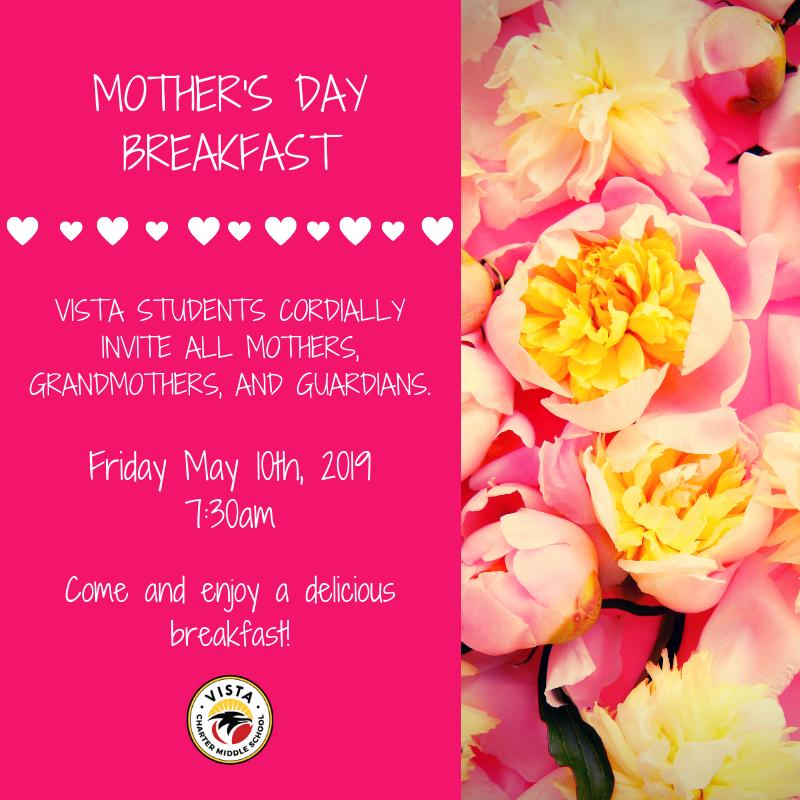 Mother's Day Breakfast /  Desayuno del día de la madre Featured Photo