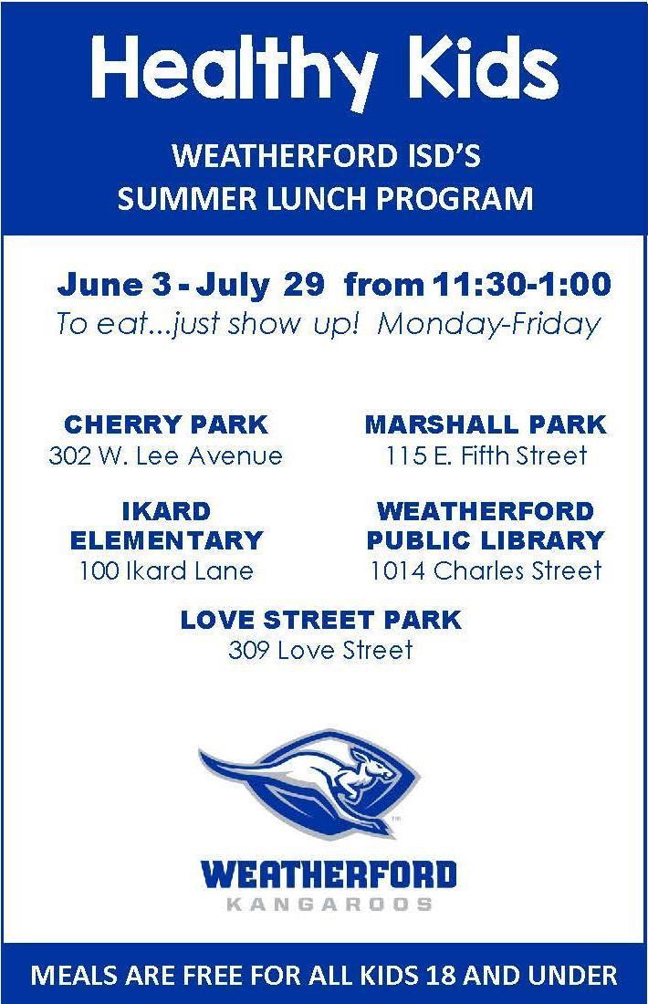 Healthy Kids - Summer Lunch Program – Child Nutrition
