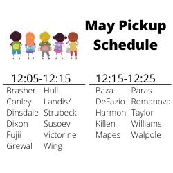May 3rd Drop off & Pick Up Procedures Featured Photo