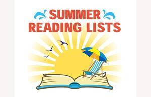 Summer reading list image