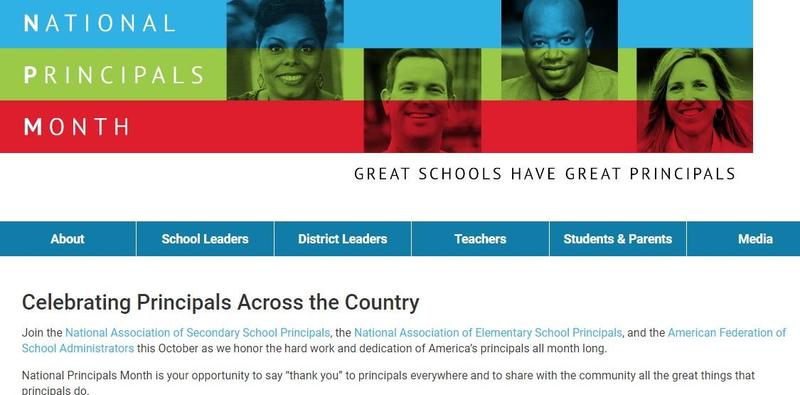 National Principals Month Featured Photo
