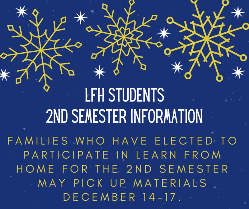 LFH 2nd Semester Info