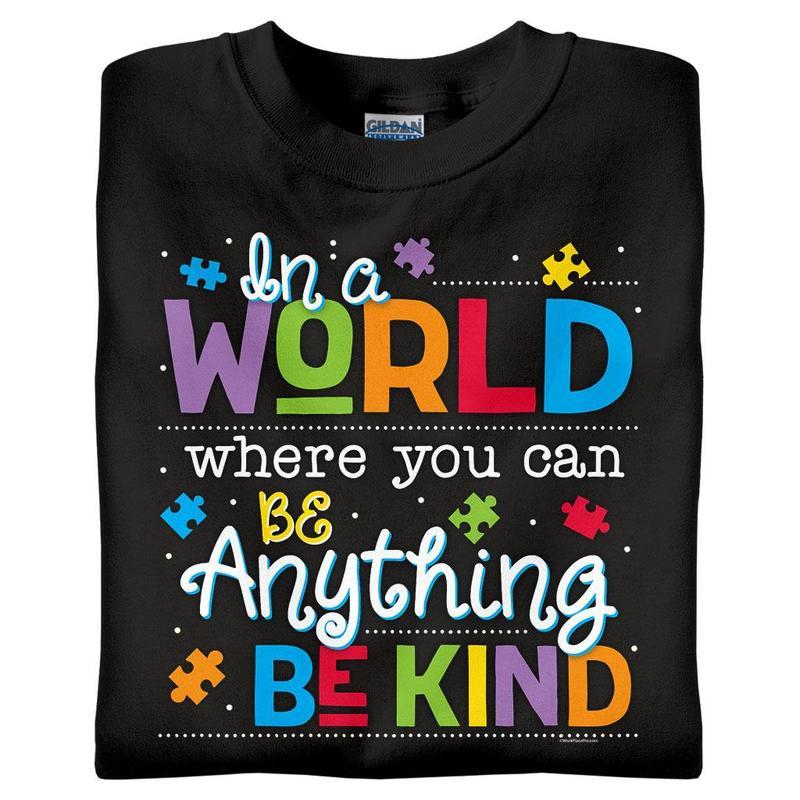 Be Kind Autism Awareness T-Shirts - Round 2! Thumbnail Image