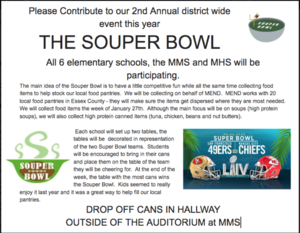 2nd Annual SOUPER Bowl Fundraiser