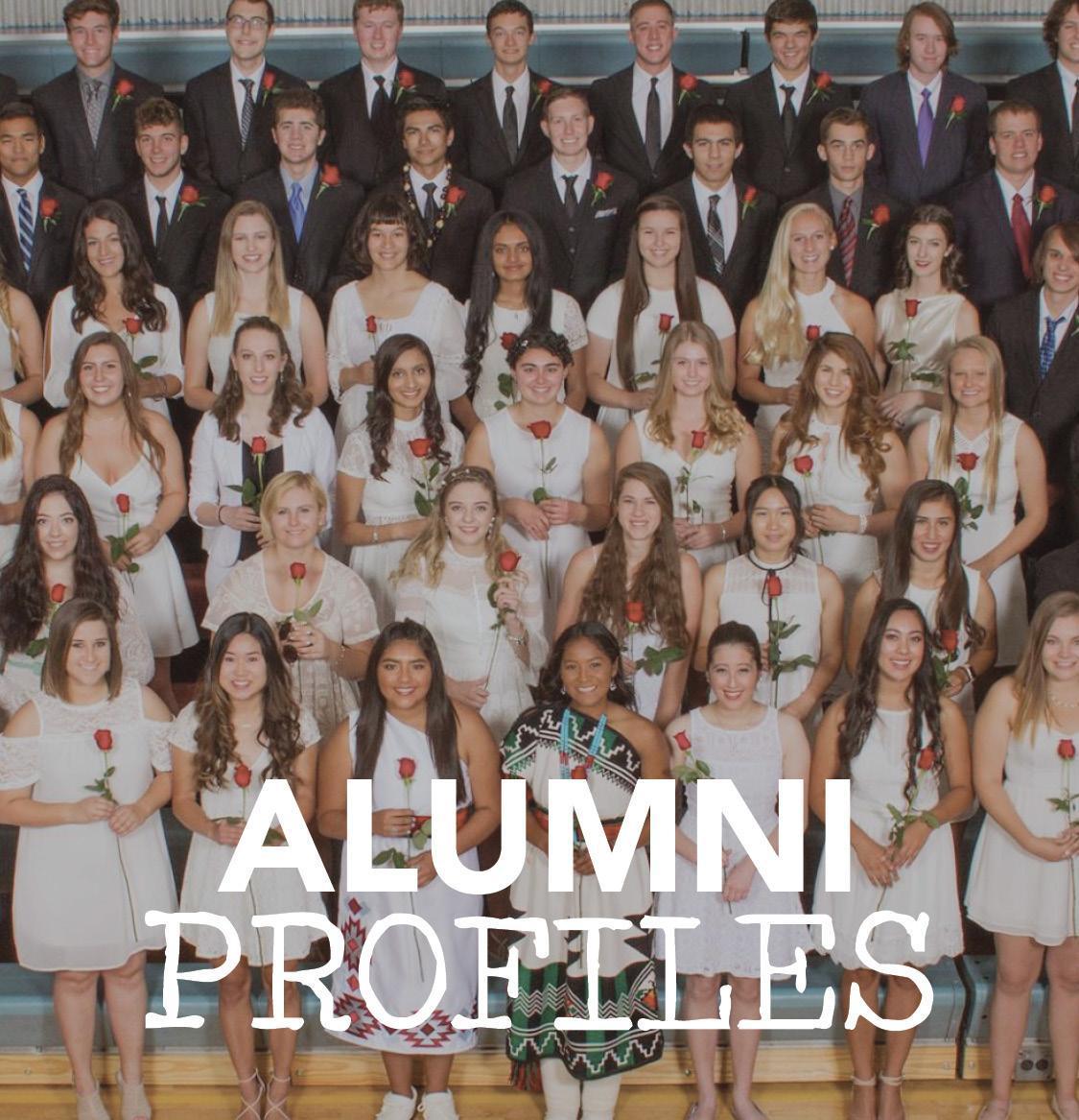 Alumni Profiles button