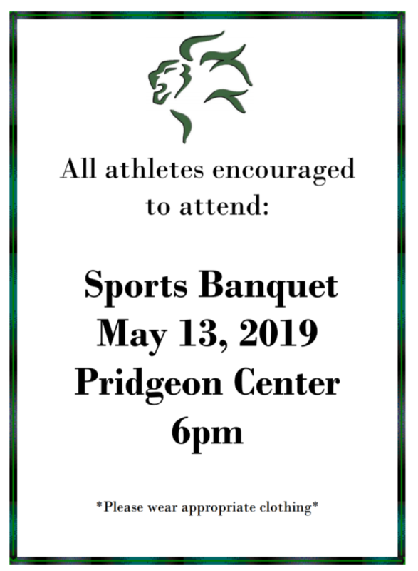 Sports banquet