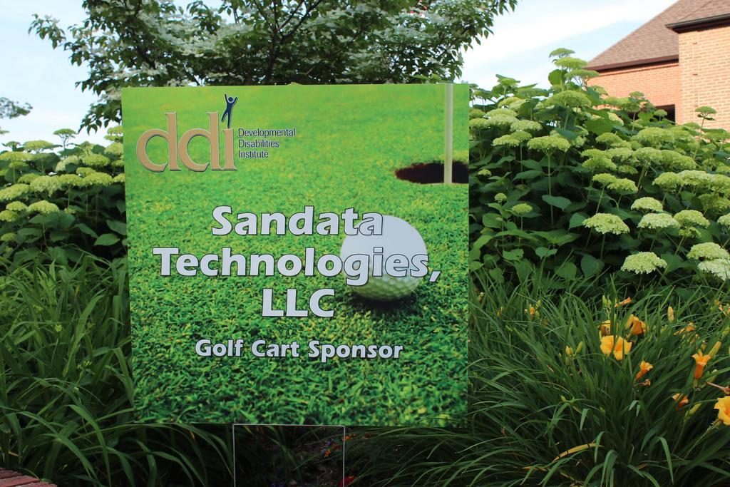 DDI golf outing sponsor sign-Sandata Technologies, LLC