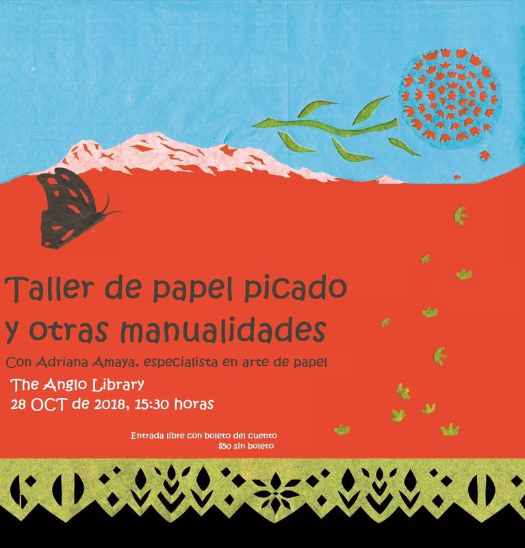 Taller de papel picado | En Día de Muertos... ¡Puros Cuentos! Featured Photo